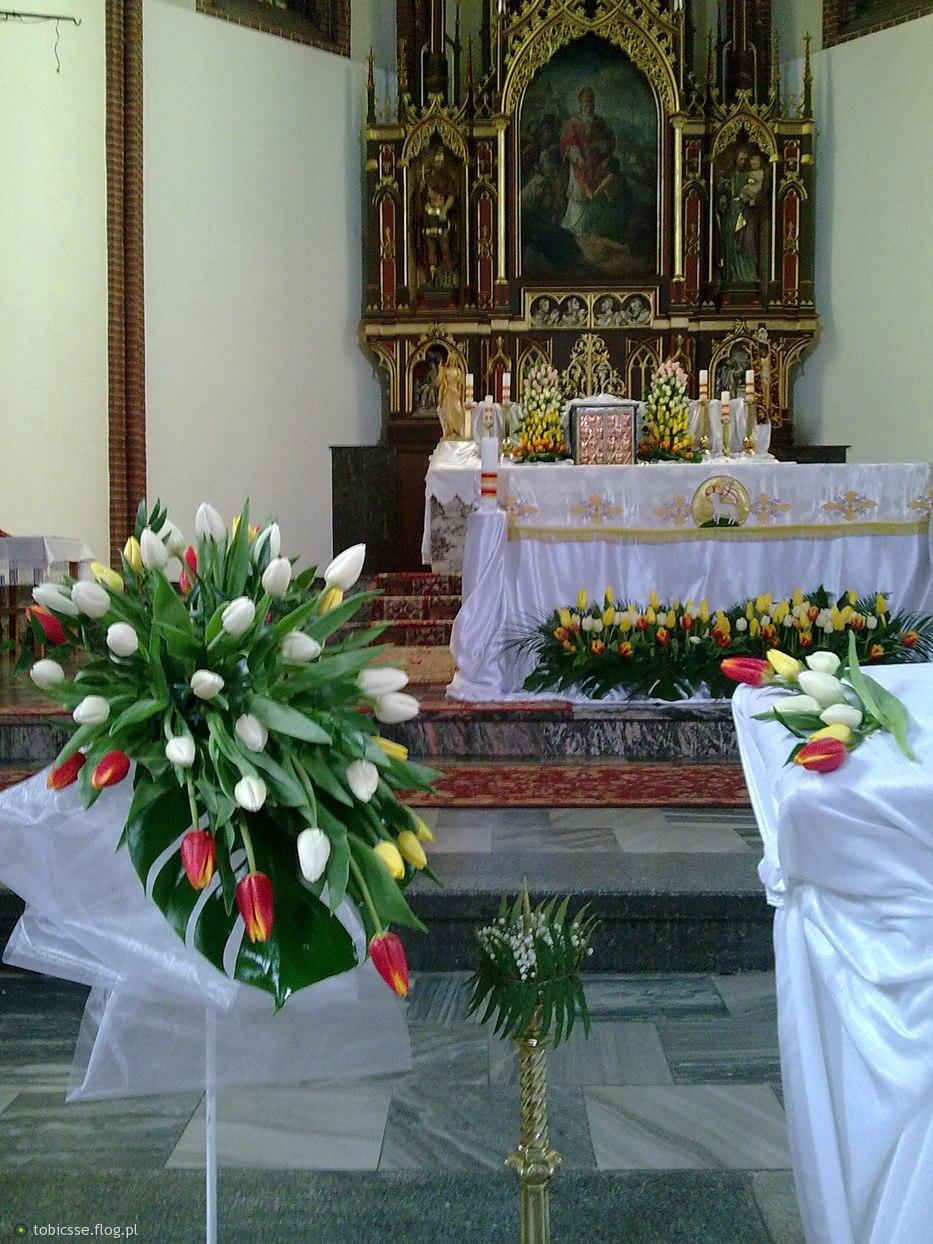 Wystrój ślubny Wielkanoc 2010 Fotoblog Tobicsseflogpl