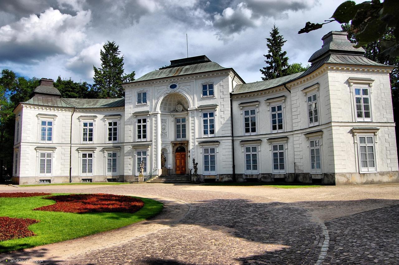 Pałac Myślewicki łazienki Królewskie Fotoblog Andrzej1