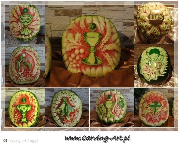 Tag Dekoracje Z Arbuza Archiwum Fotobloga Carving Artflogpl