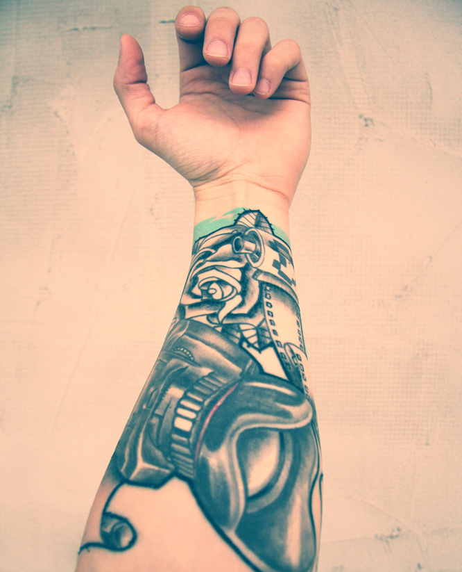 Camera Tattoo Fotoblog Photoyoungflogpl