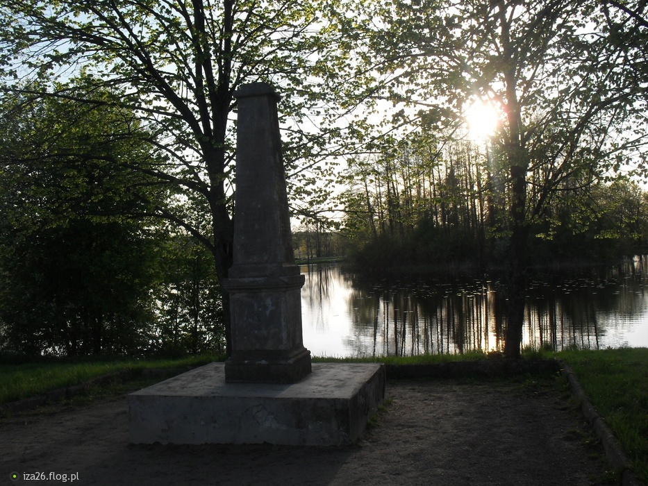 Pomnik polowań w Puszczy Bialowieskej