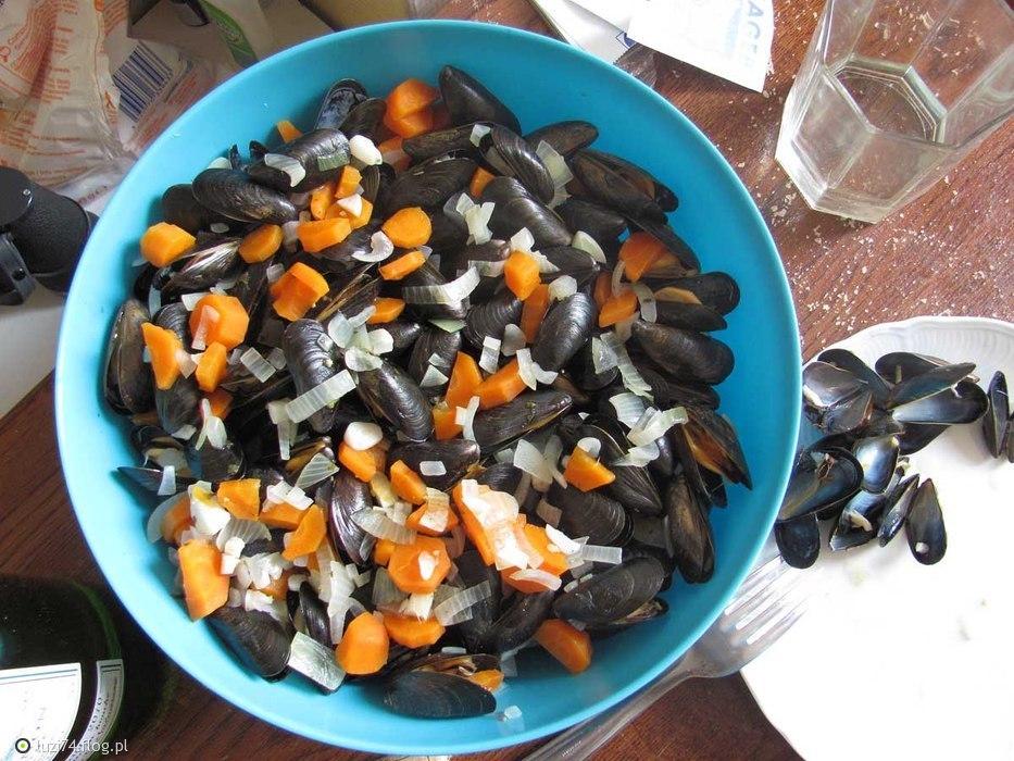 Owoce morza :) sam gotowałem :)