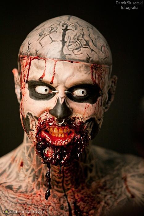 zza pleców, inne spojrzenie... Zombie Boy