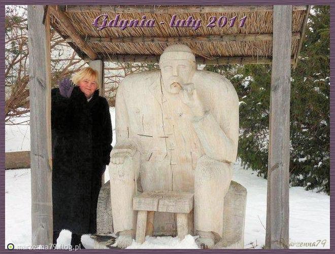 Gdynia - Zima w Orłowie w Parku Kolibki