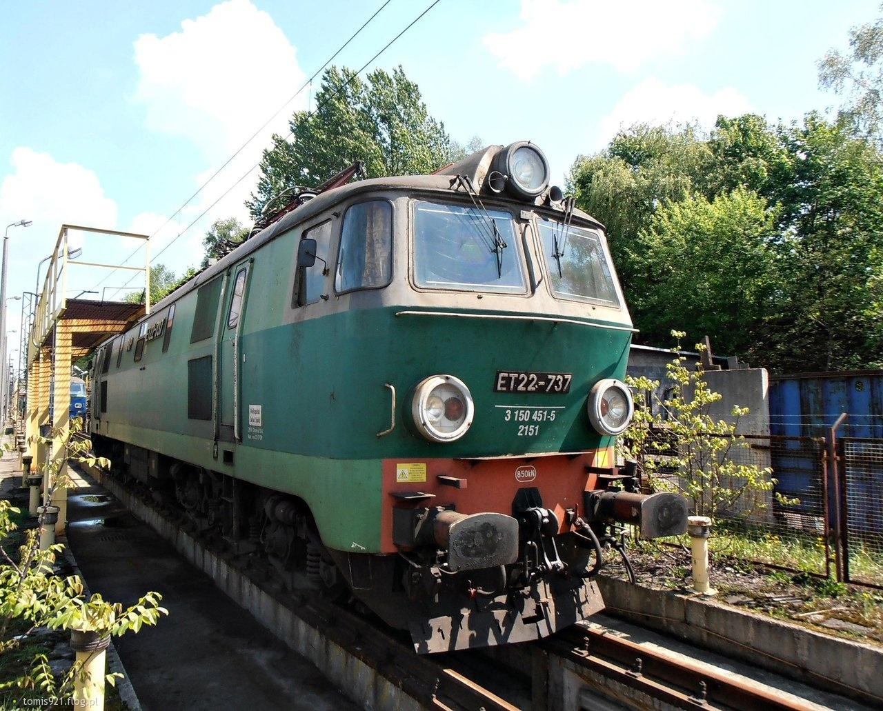 ET22-737 Ładownicza Rybnik