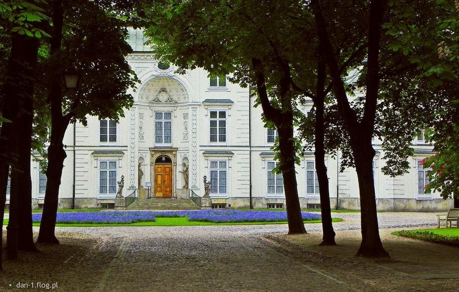 Pałac Myślewicki łazienki Królewskie Fotoblog Dan 1