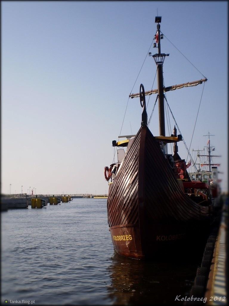Statki w Kołobrzegu