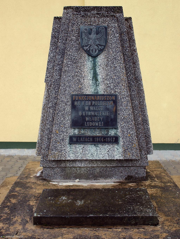 Pomnik Milicji Obywatelskiej i Służby Bezpieczeństwa w Zabłociu