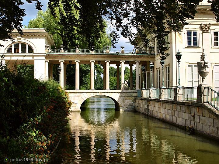 Warszawa Park łazienkowski Pałac Na Wodzie Fotoblog