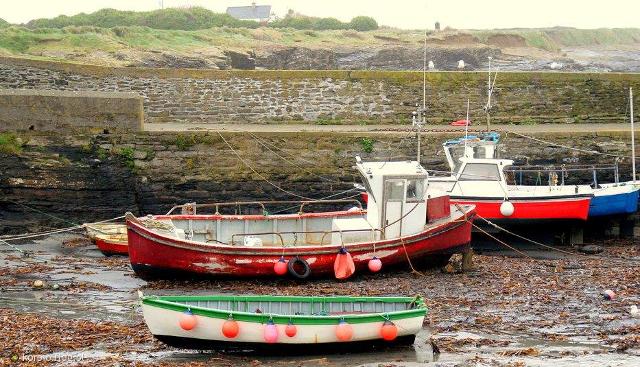 Stary port-odpływ  Irlandia