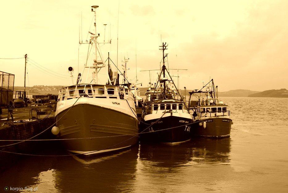 Lokalny port- Irlandia