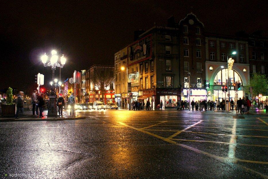 Dublin nocą