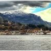 Norwegia osada na wysepce<br />. Sand-Sauda ::