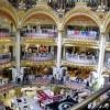 Paryż -  GALERIES LAFAYET<br />TE :: Jest sobota rano może tak<br /> wybrać się na zakupy? Za<br />praszam do galerii handlo<br />wej  Lafayette - tylko